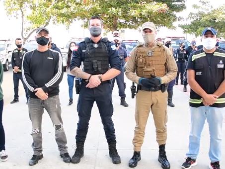 COLUNA DE SÁBADO: Forças de Segurança se unem na proteção à cidade na Operação Integrale