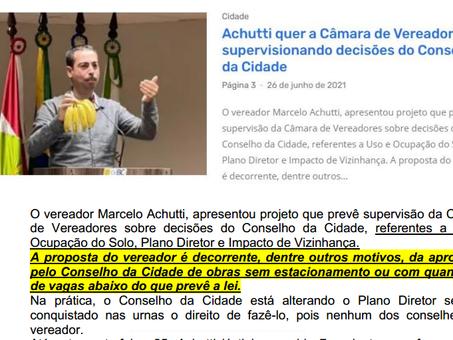 COLUNA DE SEXTA: Proposta inapropriada e inconstitucional quer mudar prerrogativa do ConCidades