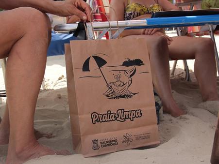 Balneário Camboriú é reconhecida com selo do projeto Lixo Fora D'Água, de caráter nacional