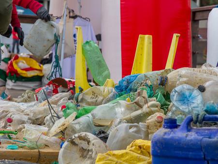 Bombinhas: mais de 110 toneladas de lixo são retiradas do fundo do mar, praias e costões