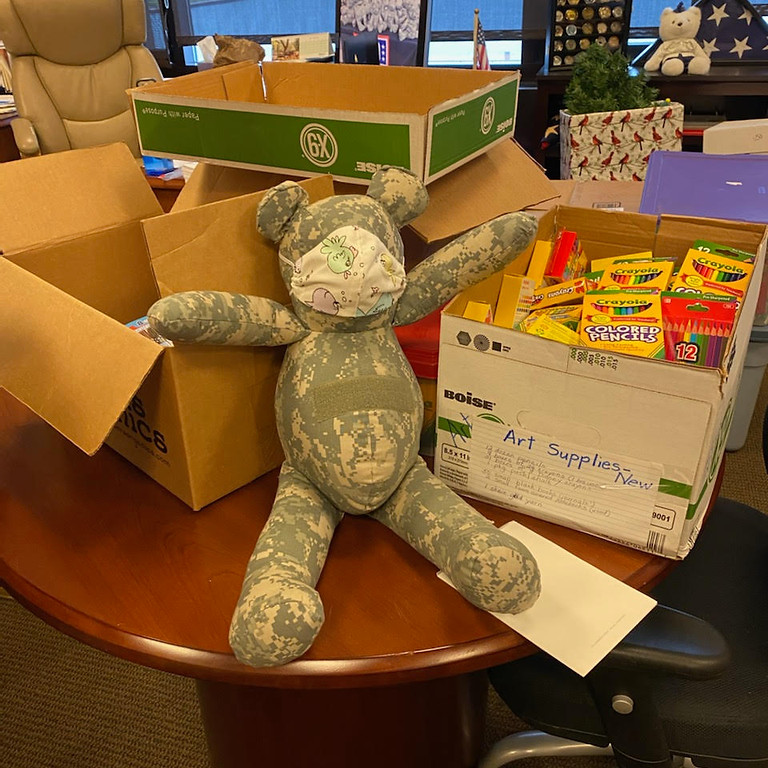 Bear for Active Military Families