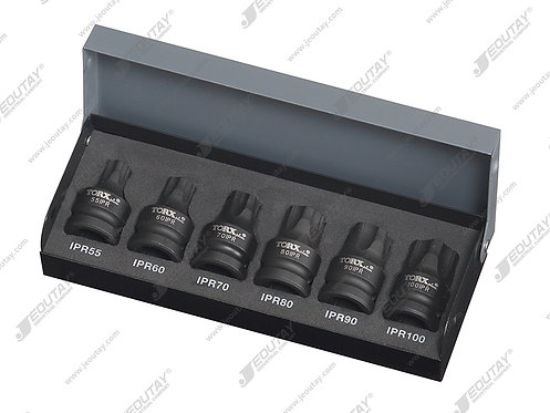 20006-IPR 6PCS TORX PLUS IMPACT BIT SOCKET SET-IPR