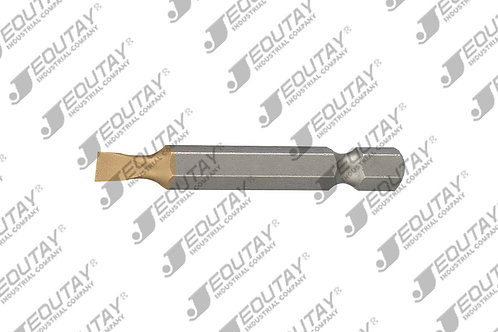 1/4 xE6.3 Bit Slotted (Forged TiN)
