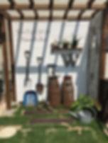 copain de garden コパンデガーデン 福島市 ナチュラル 好きな雑貨を飾って自分だけの空間を楽しめます。