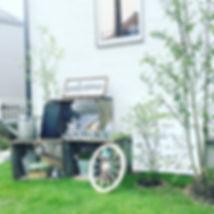 copain de garden コパンデガーデン 福島市 ナチュラル アンティーク 枕木 雑貨