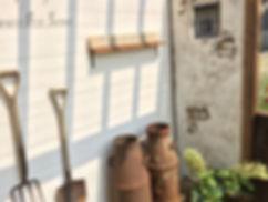 copain de garden コパンデガーデン 福島市 モルタル造形 アンティークやシャビー好きな雑貨を飾って楽しめます。