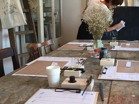 Modern calligraphy workshop!