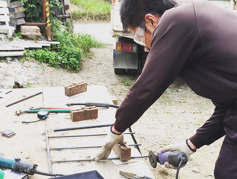 鉄の伝道師 コパンデガーデン アイアン表札 copain-de-garden ナチュラルガーデン フレンチカントリー
