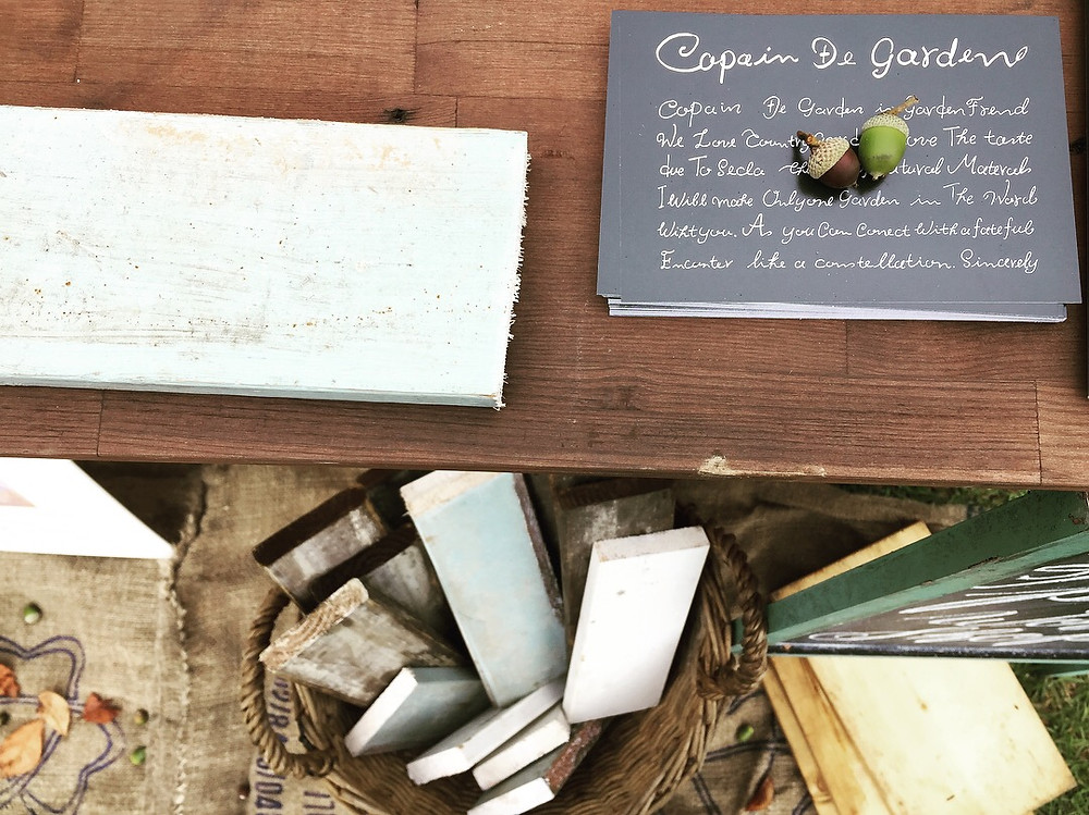 copain-de-garden コパンデガーデン ワークショップ 端材 古材 どんぐり