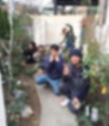 copain de garden コパンデガーデン 福島市 ナチュラル アンティーク 枕木 モルタル造形