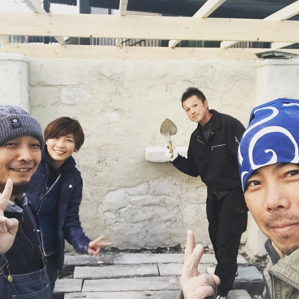 モルタル造形師 ミズムラデザイン コパンデガーデン 福島市庭 福島市外構 ガーデン