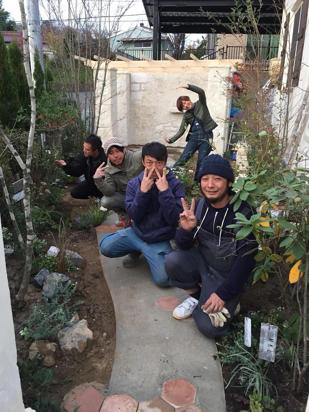 グリーンスタイル 植栽デザイン 庭師 アンドリュー造園 コパンデガーデン
