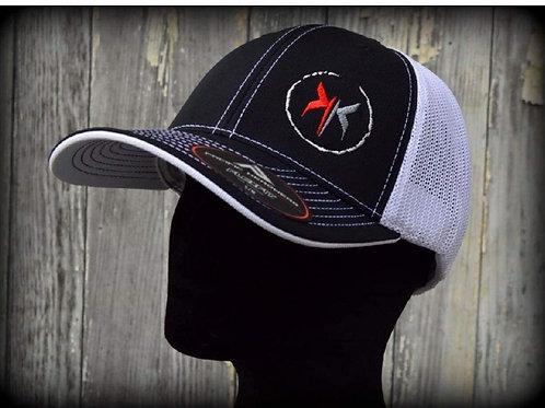 Kye Kelley Racing Fitted Hat (white mesh)