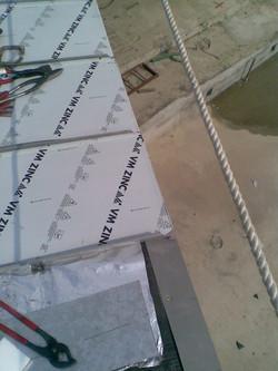 鈦鋅板半屋脊鳥嘴造型