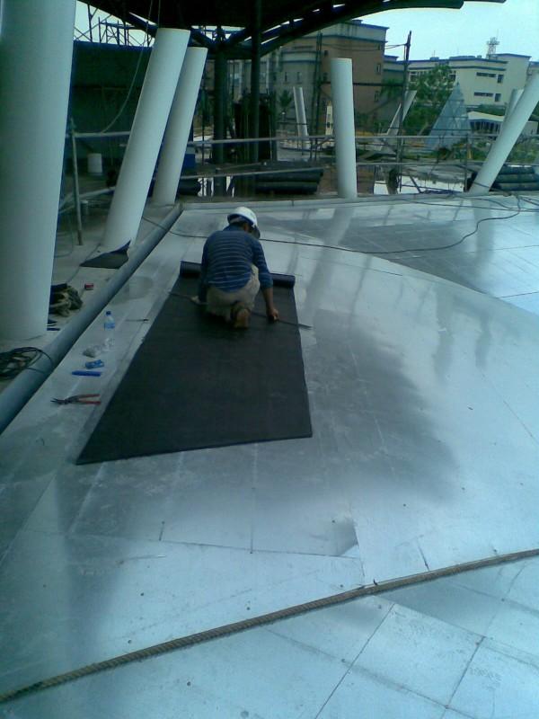 防水毯切割