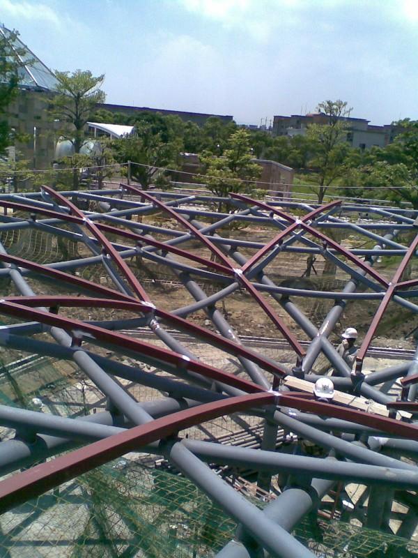一&二次鐵件完成做焊道檢測