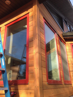Custom Clear western red cedar source and milled on the Canadian West Coast Sechelt area