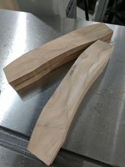 Bench Knife in progress