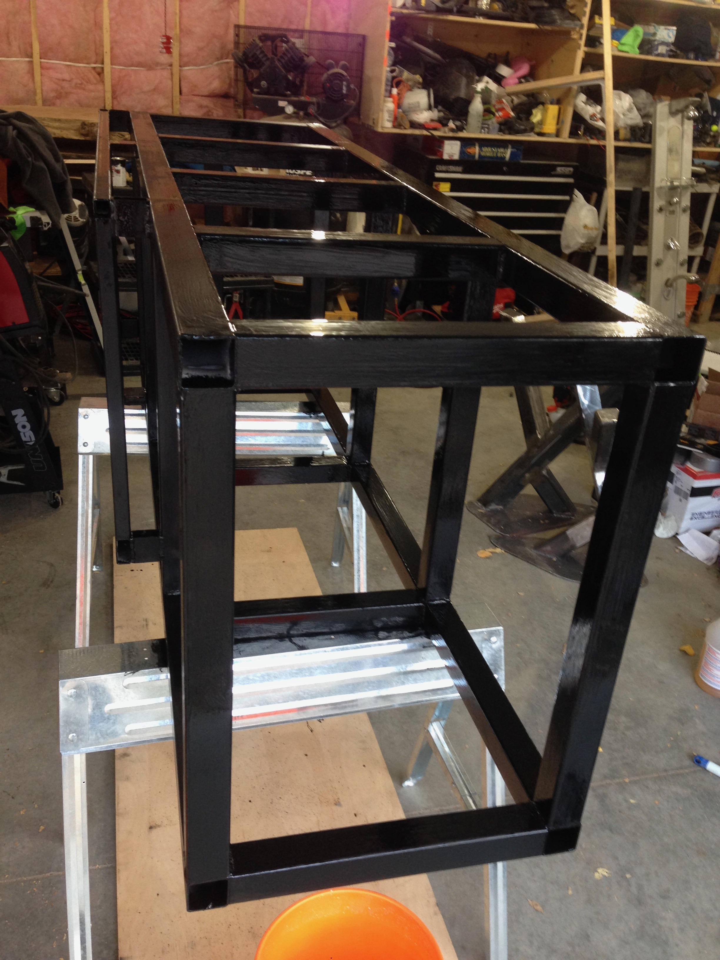 Steel Fish tank stand for structural support