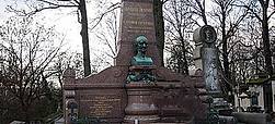 ハーネマンのお墓