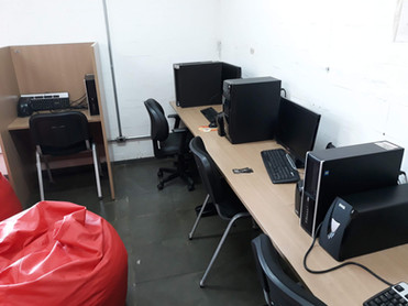 Espaço para programação e desenvolvimento