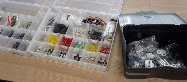 Componentes e sensores