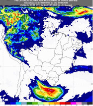 Ciclone extratropical se aproxima do RS, chuva continua sem conseguir avançar e levanta preocupação
