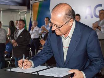 Geraldo Alckmin anunciou na Agrishow medida de incentivo para o seguro agrícola no Estado de SP