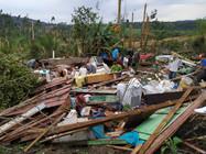 Epagri aponta prejuízos em área rurais de 15 municípios catarinenses com temporais do fim de semana