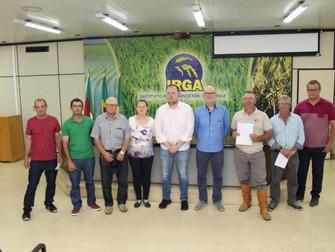 Irga indeniza produtores prejudicados pelo granizo