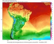 Meteorologistas mantêm previsão de geada forte para áreas do milho safrinha na próxima madrugada