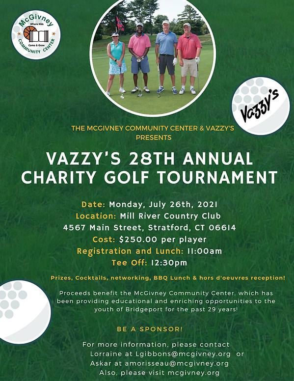 2021 Vazzy's 28th Golf  Tournament PNG F