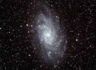 M33 さんかく座の渦巻銀河
