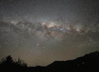 ニュージーランドで天の川
