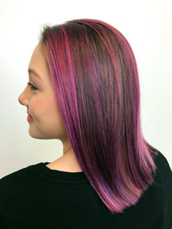 DryHair_20min_Alternating_HotPink_Purple_Bella_Side