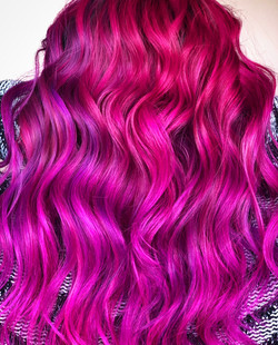 HOTPINK-LIGHTPINK-RED-MIXED WITH JOICO-ANNYTHEPAINTER