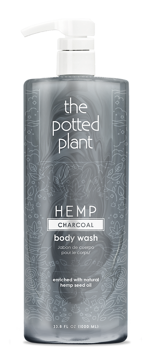 Charcoal Body Wash Liter