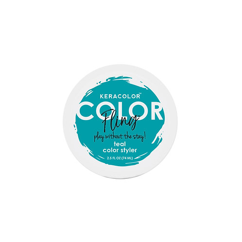 Color Fling Teal