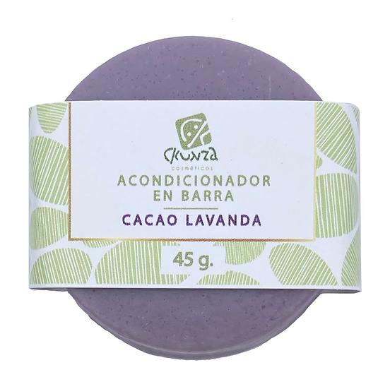Repuesto Acondicionador en barra de Cacao Lavanda de 45 g