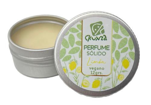 Perfume sólido de Limón 12 g