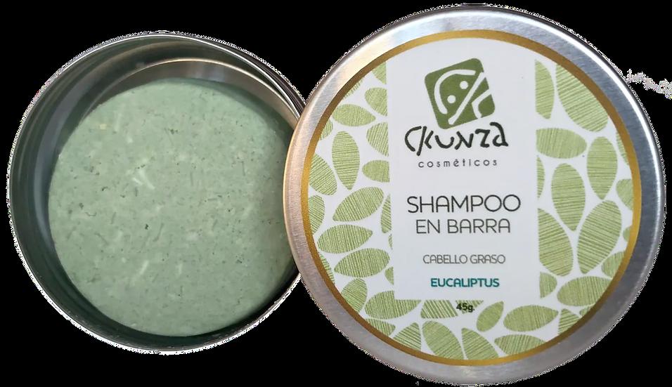 Shampoo en barra de Eucaliptus de 45 gr.
