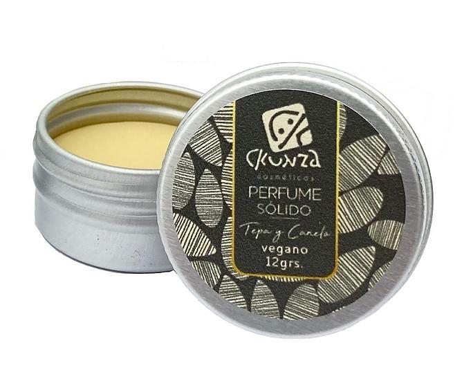 Perfume sólido de Tepa y Canelo 12 g
