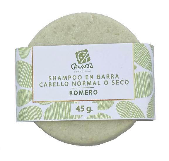 Repuesto Shampoo en barra de Romero de 45 g