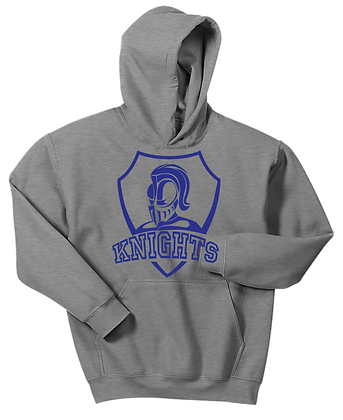 HOODED SWEATSHIRT-GREY2