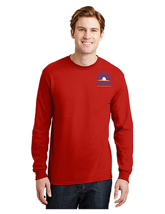 LONG SLEEVE T-SHIRT-RED-Spirit4