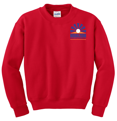 CREWNECK SWEATSHIRT-RED-Spirit3