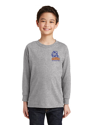 GYM-LONG SLEEVE T-SHIRT- GREY-SBH