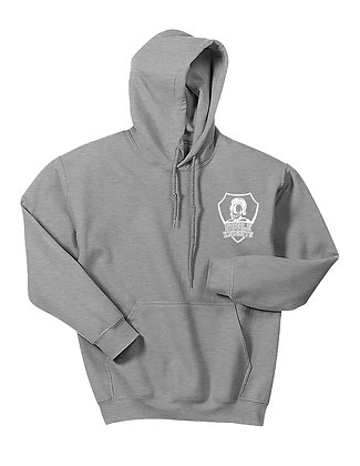 HOODED SWEATSHIRT-GREY.