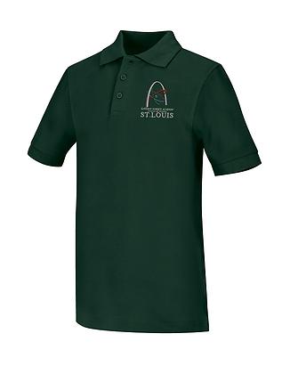 Short Sleeve Polo-Green..