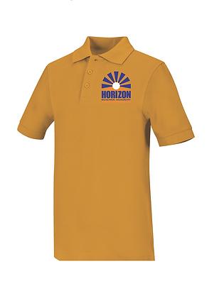 Short Sleeve-Gold Color Polo